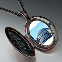 Necklace & Pendants - landmark taj photo pendant necklace Image.