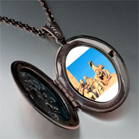 Necklace & Pendants - travel monument to discoveries photo pendant necklace Image.