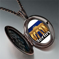 Necklace & Pendants - travel brandenburg gate photo pendant necklace Image.
