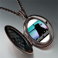Necklace & Pendants - travel windmill netherlands photo pendant necklace Image.
