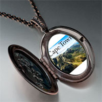 Necklace & Pendants - travel cape town photo pendant necklace Image.