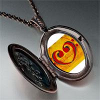 Necklace & Pendants - music score heart photo pendant necklace Image.