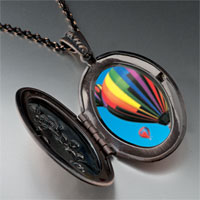 Necklace & Pendants - hot air balloons pendant necklace Image.