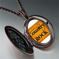Necklace & Pendants - music theme country rock letter photo pendant necklace Image.