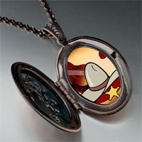 Necklace & Pendants - music theme cowboy photo pendant necklace Image.