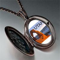 Necklace & Pendants - travel &  culture utah photo pendant necklace Image.