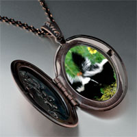 Necklace & Pendants - wildlife skunk photo pendant necklace Image.