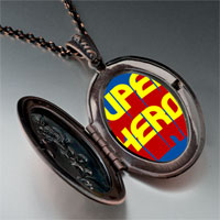 Necklace & Pendants - famous people superhero photo pendant necklace Image.