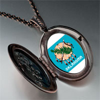 Necklace & Pendants - travel oklahoma photo pendant necklace Image.