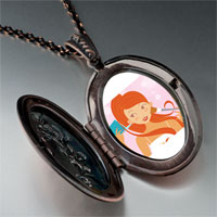 Necklace & Pendants - hobbies makeup photo pendant necklace Image.