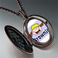 Necklace & Pendants - fictional character brownie photo pendant necklace Image.
