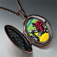 Necklace & Pendants - motorcycle photo italian pendant necklace Image.