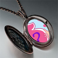 Necklace & Pendants - pregnant boy girl photo italian pendant necklace Image.