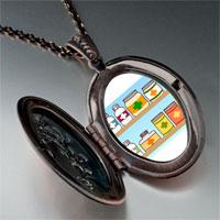 Necklace & Pendants - medicine chest photo italian pendant necklace Image.