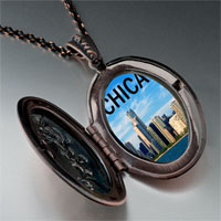 Necklace & Pendants - chicago photo italian pendant necklace Image.