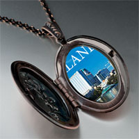 Necklace & Pendants - orlando city scenery photo italian pendant necklace Image.