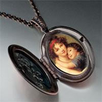 Necklace & Pendants - mom child photo pendant necklace Image.