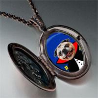 Necklace & Pendants - puppy gentleman photo italian pendant necklace Image.
