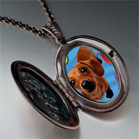 Necklace & Pendants - balloon around puppy pendant necklace Image.