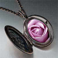 Necklace & Pendants - blooming rose pendant necklace Image.