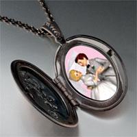 Necklace & Pendants - wedding cake couple pendant necklace Image.