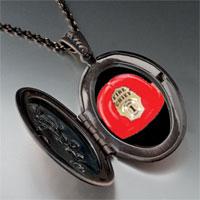 Necklace & Pendants - fire chief helmet pendant necklace Image.