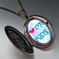 Necklace & Pendants - i heart kids photo pendant necklace Image.