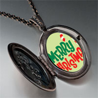 Necklace & Pendants - merry christmas halloween candy cane pendant necklace Image.