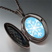 Necklace & Pendants - pendants christmas gifts snowflake photo pendant necklace Image.