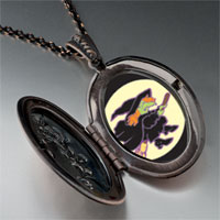 Necklace & Pendants - flying witch pendant necklace Image.
