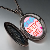 Necklace & Pendants - pink daddy' s girl pendant necklace Image.