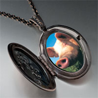 Necklace & Pendants - piggy face pendant necklace Image.