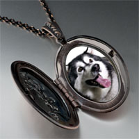 Necklace & Pendants - husky dog photo pendant necklace Image.