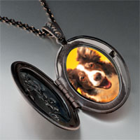 Necklace & Pendants - border collie dog pendant necklace Image.