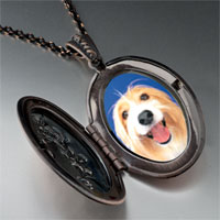Necklace & Pendants - bearded collie face pendant necklace Image.