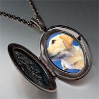 Necklace & Pendants - golden retriever puppy pendant necklace Image.