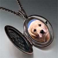 Necklace & Pendants - white puppy photo pendant necklace Image.