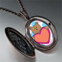 Necklace & Pendants - valentine teddy bear pendant necklace Image.