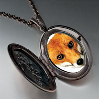 Necklace & Pendants - red fox pendant necklace Image.