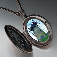 Necklace & Pendants - old new windmill pendant necklace Image.