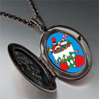 Necklace & Pendants - christmas jewelry christmas stocking photo pendant necklace Image.