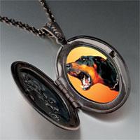 Necklace & Pendants - barking dog pendant necklace Image.