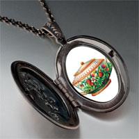 Necklace & Pendants - flower teapot pendant necklace Image.