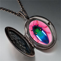 Necklace & Pendants - florescent bug pendant necklace Image.