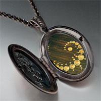 Necklace & Pendants - alien crop circles pendant necklace Image.