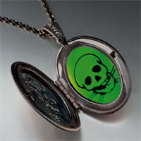 Necklace & Pendants - halloween skull crossbones poison pendant necklace Image.