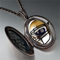 Necklace & Pendants - football helmet brown pendant necklace Image.