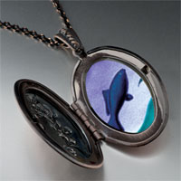 Necklace & Pendants - jumping fish photo pendant necklace Image.