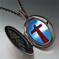 Necklace & Pendants - wooden cross pendant necklace Image.