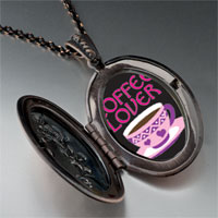 Necklace & Pendants - coffee lover pendant necklace Image.
